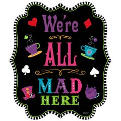 Mad Tea Party Bulk Cutout - Medium