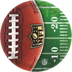 NFL Drive Round Plates 7in