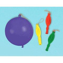 Bright Latex Punch Balloons