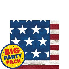 Americana Beverage Napkins 100ct
