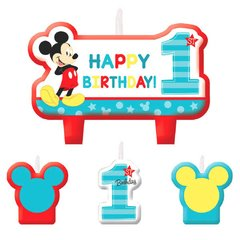 ©Disney Mickey's Fun To Be One Birthday Candle Set