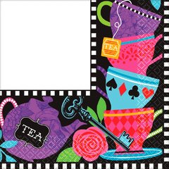 Mad Tea Party Luncheon Napkins