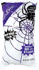 Big Pack Stretchable Polyester Spider Web