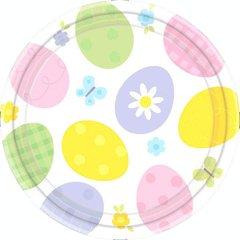 "Eggstravaganza Plates, 9"""