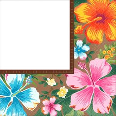 Beachy Blooms Luncheon Napkin