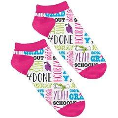 Graduation No Show Socks - Phrases