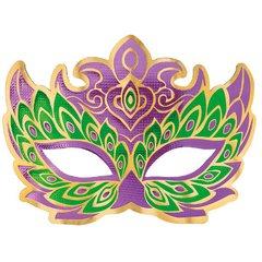 Mardi Gras Holographic Mask