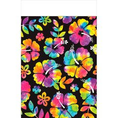 Neon Paradise Plastic Table Cover
