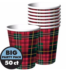 Holiday Charm Cups, 9 oz.