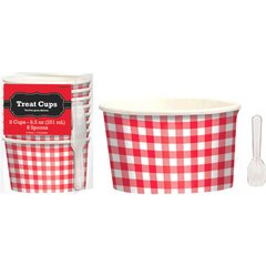 Picnic Party Paper Treat Cups