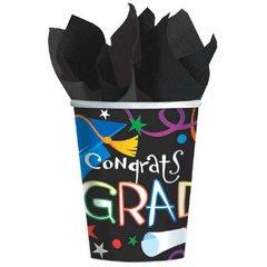 Grad Celebration Cups, 9oz.