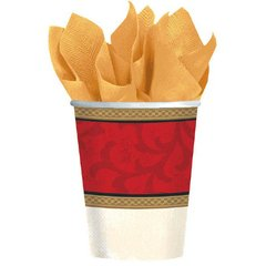 Classic Christmas Tree Cups, 9 oz.