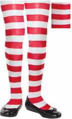 Candy Stripe Tights - Child S/M