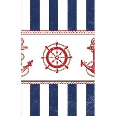 Anchors Aweigh Plastic Table Cover