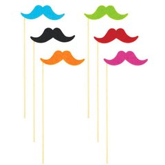Moustache on a Stick Multi Pack