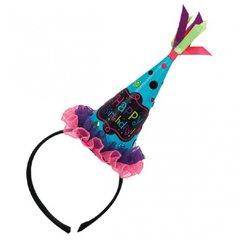 Birthday Chic Cone Hat Headband