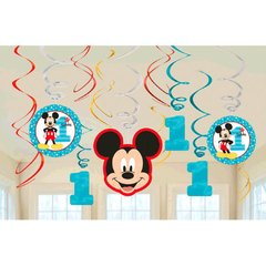 ©Disney Mickey's Fun To Be One Value Pack Foil Swirl Decorations