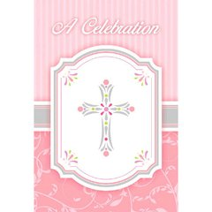Blessings Pink Postcard Value Pack Invitations