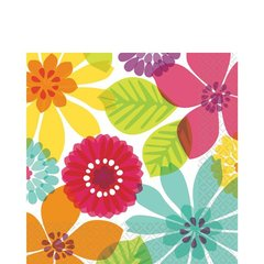 Day in Paradise Luncheon Napkins 16ct