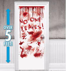 Asylum Blood Dripping Door Cover