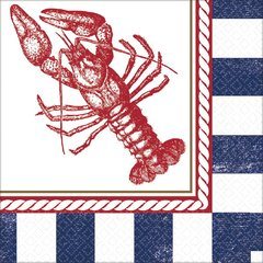 Anchors Aweigh Lobster Luncheon Napkin