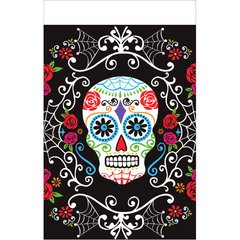 Day of The Dead Plastic Table Cover