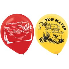 ©Disney Cars Formula Racer Printed Latex Balloons