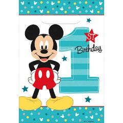 ©Disney Mickey's Fun To Be One Folded Loot Bags