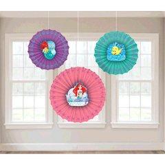 ©Disney Ariel Dream Big Paper Fan Decoration
