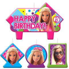 Barbie™ Sparkle Birthday Candle Set