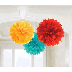 Fiesta Fluffy Paper Decorations