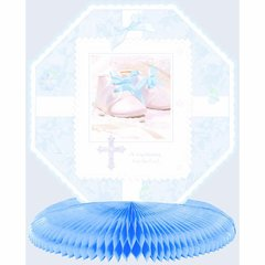 Tiny Blessing Blue Honeycomb Centerpiece