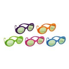 Multicolor 70's Glasses