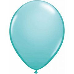 "18 Caribbean Blue, Qualatex 11"" Latex Balloon 