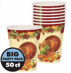 Joyful Thanksgiving Cups, 9 oz.