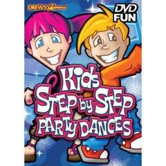 Drew's Famous Kids Step by Step Party Dances DVD