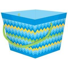 Wide Bucket - Blue