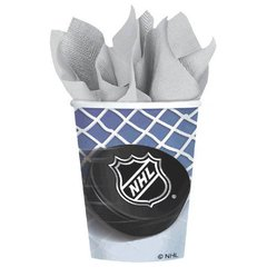 NHL Ice Time! 9 oz. Cups