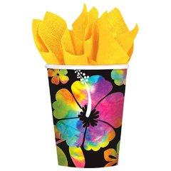 Neon Paradise Cups, 9 oz.