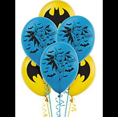 Batman™ Printed Latex Balloons