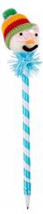 Blue Snowman Pen