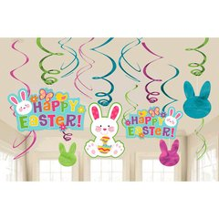 Easter Value Pack Swirl Decorations