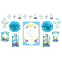 First Communion Blue Decorating Kit
