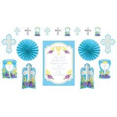 First Communion Blue Decorating Kit