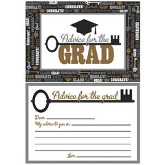 Advice Cards For The Graduate