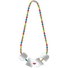 Grad Deluxe Bead Necklace