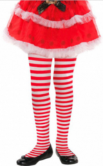 Candy Stripe Tights - Child M/L