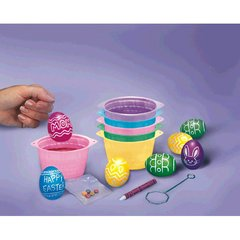 Plastic Egg-Dying Coloring Cups