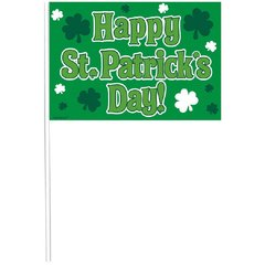 St. Patrick's Day Multipack Flags