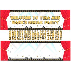 Hollywood Personalized Giant Sign Banner